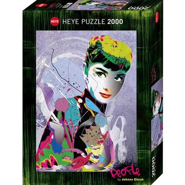 Heyepuzzle 2000 pcs People Cheuk Audrey II 29867 - ODDO igračke