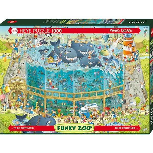 Heye puzzle 1000 pcs Degano Fanky Zoo Ocean 29777 - ODDO igračke
