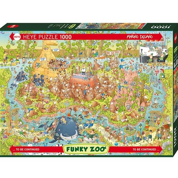 Heye puzzle 1000 pcs Degano Fanky Zoo Australian 29870 - ODDO igračke