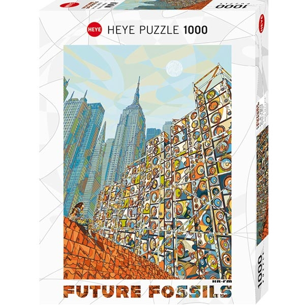 Heye puzzle 1000 pcs Future Fossils Home in Mind 29876 - ODDO igračke