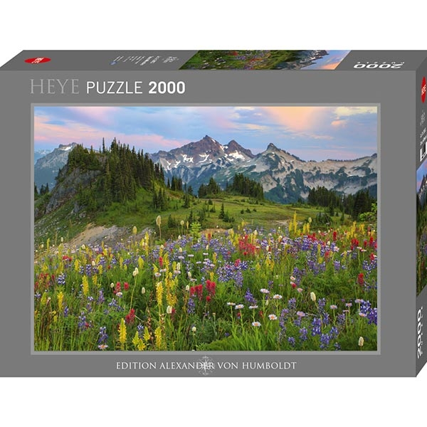 Heye puzzle 2000 pcs Edition Humboldt Tatoosh Mountains 29903 - ODDO igračke