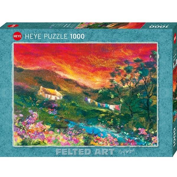 Heye puzzle 1000 pcs Filc Art Washing Line 29916 - ODDO igračke