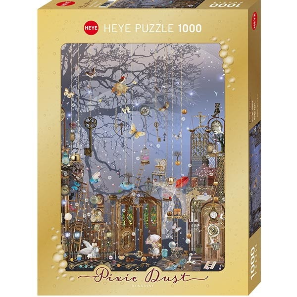 Heye puzzle 1000 pcs Pixie Dust Magic Keys 29918 - ODDO igračke