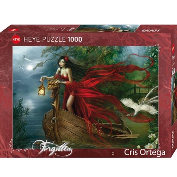 Heye puzzle 1000 pcs Forgotten Mistic Red Girl 29389 - ODDO igračke