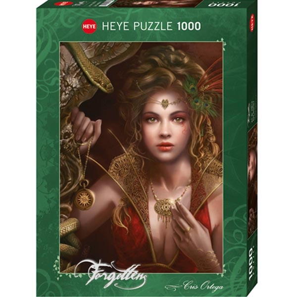 Heye puzzle 1000 pcs Forgotten Gold Jewellery 29614 - ODDO igračke