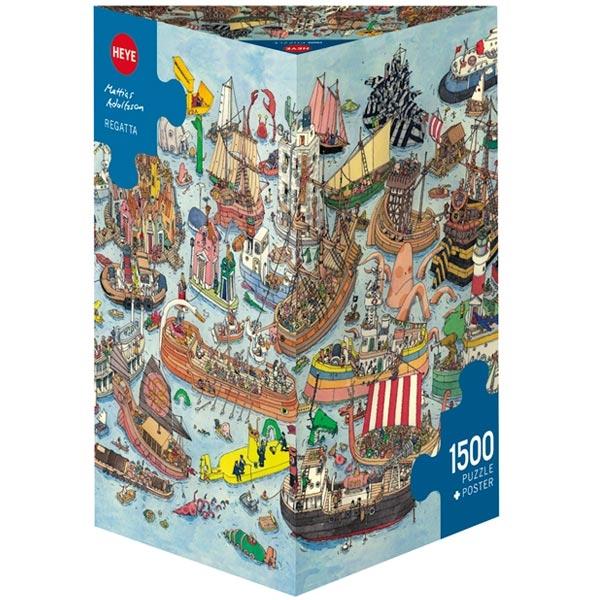 Heye puzzle 1500 pcs Triangle Adolfsson Regatta 29891 - ODDO igračke
