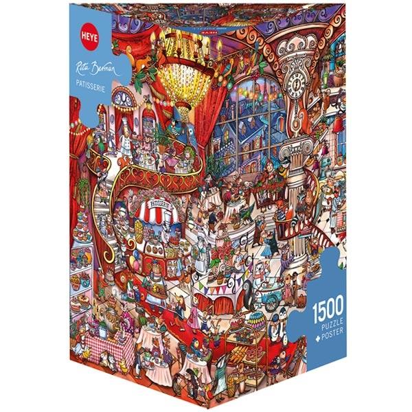 Heye puzzle 1500 pcs Triangle Berman Patisserie 29889 - ODDO igračke