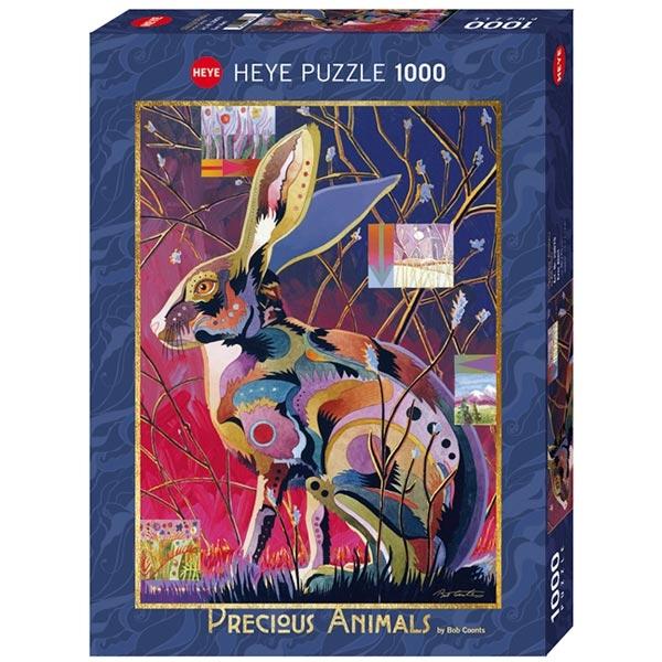 Heye puzzle 1000 pcs Precious Animals Ever Alert 29879 - ODDO igračke