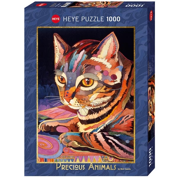 Heye puzzle 1000 pcs Precious Animals So Cosy 29878 - ODDO igračke