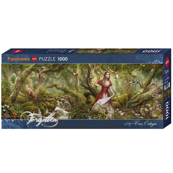 Heye puzzle 1000 pcs Forgotten Panorama Forest Song 29869 - ODDO igračke