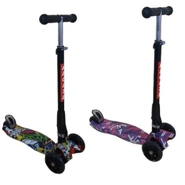Maxi Scooter Trotinet Urban sa svetlecim tockovima AC03-NW - ODDO igračke