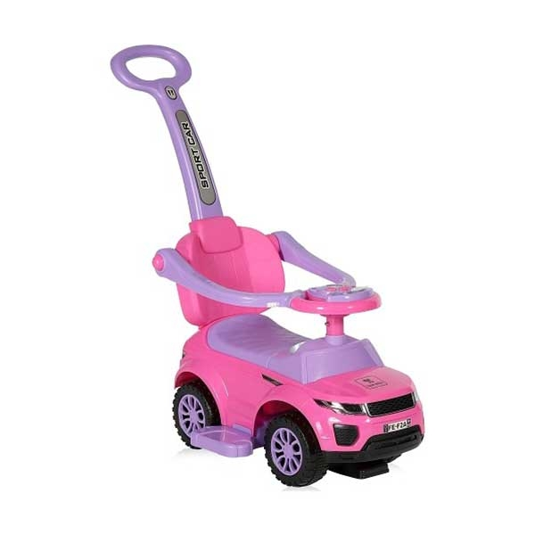 Guralica RIDE-ON Auto Mercedes off road + handle pink Bertoni 10400030004 - ODDO igračke
