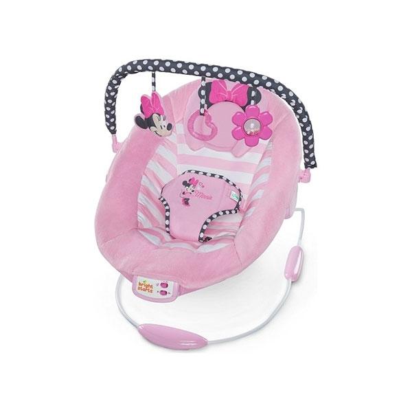 Ležaljka Blushing Bows Bouncer KIDS II Disney Baby - Minnie Mouse SKU10903 - ODDO igračke
