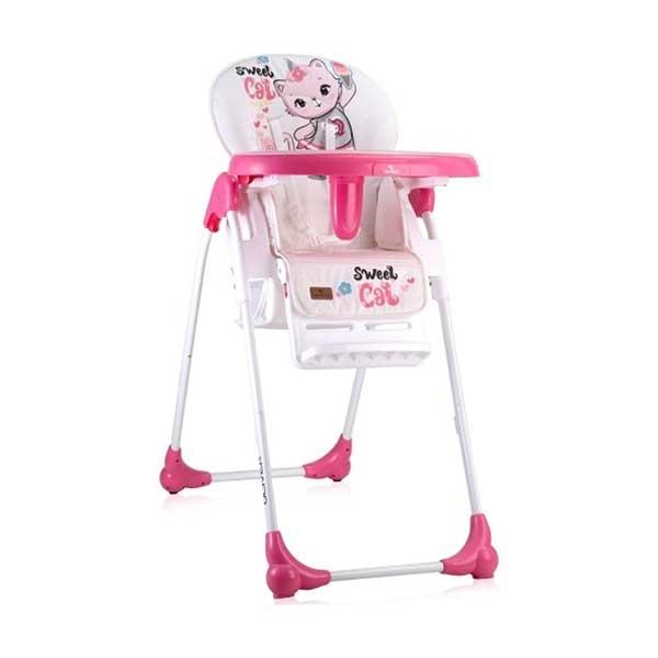 Stolica za hranjenje OLIVER PINK CAT (2020) Bertoni 10100252031 - ODDO igračke
