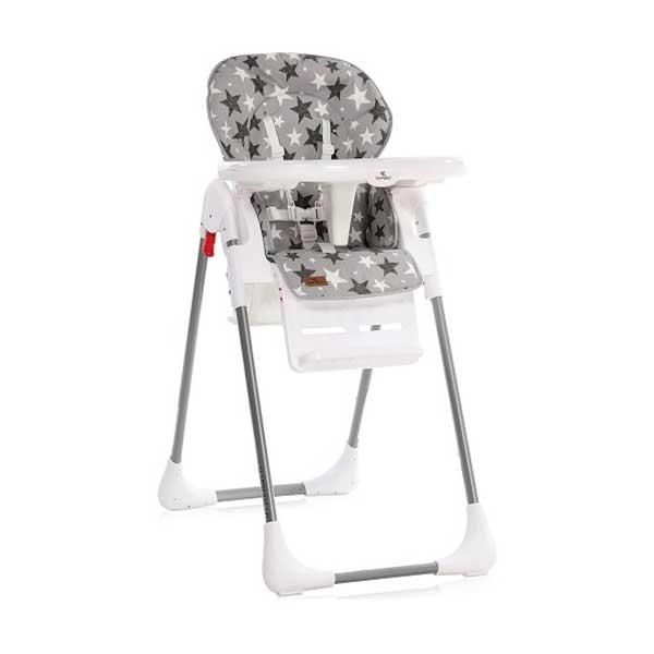 Stolica za hranjenje TUTTI FRUTTI GREY STARS Bertoni 10100262015 - ODDO igračke