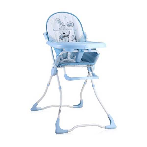Stolica za hranjenje MARCEL BLUE BUNNY (2020) Bertoni 10100322043 - ODDO igračke