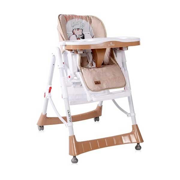 Stolica za hranjenje HRANILICA GUSTO BEIGE PENGUIN (2020) Bertoni 10100362033 - ODDO igračke