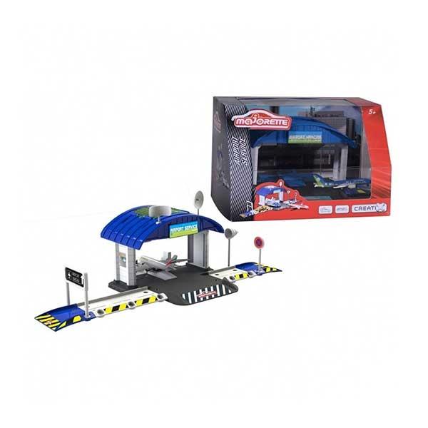 Majorette creatix aerodromski hangar i avion M2050017038                                       - ODDO igračke