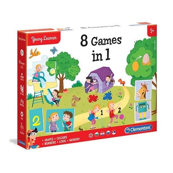 Mali istraživači igre 8 u 1 Clementoni CL50602                                                 - ODDO igračke