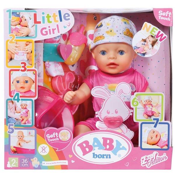 Baby Born Lutka Soft Touch Little Girl ZF827321      - ODDO igračke
