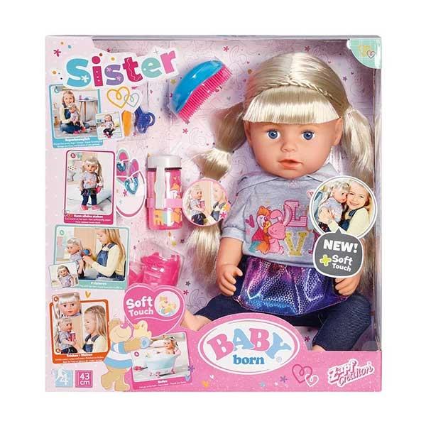 Baby Born Lutka Soft Touch Sister  ZF824603      - ODDO igračke