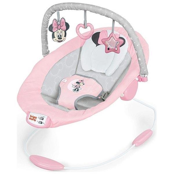 KIDS II Bright Starts Lezaljka Minnie Mouse Rosy Skies SKU12206 - ODDO igračke