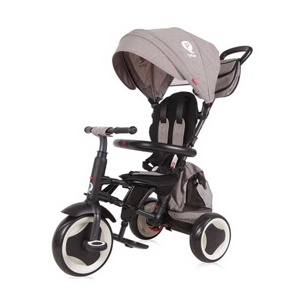 Tricikl RITO PLUS - GREY Bertoni 10050440015 - ODDO igračke