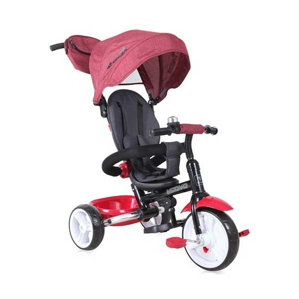 Tricikl MOOVO RED&BLACK LUX Bertoni 10050470018 - ODDO igračke
