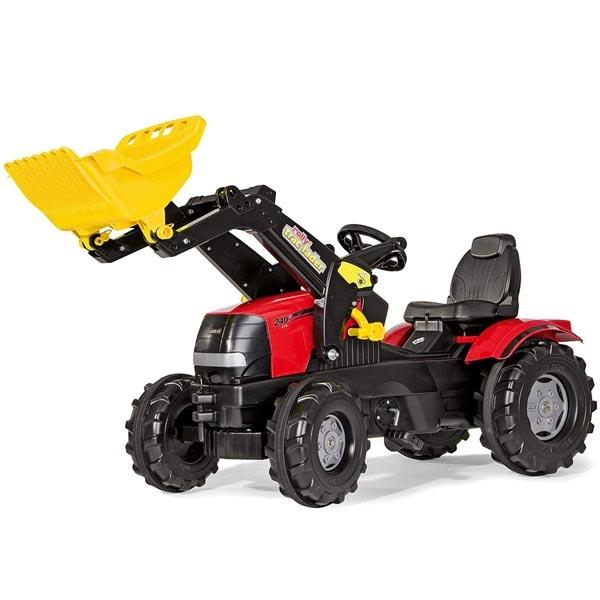 Traktor na pedale Rolly Toys Case Puma CVX240 sa kašikom 611065 - ODDO igračke