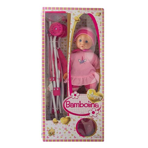 BAMBOLINA amore sa kolicima set DI1841 - ODDO igračke