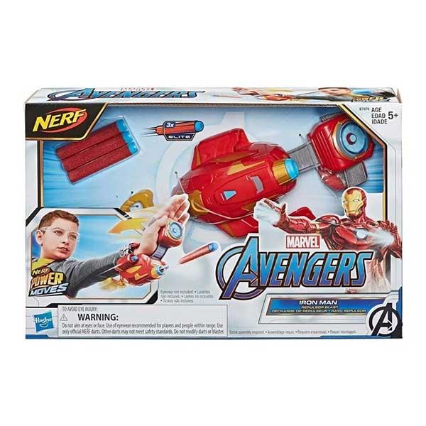Nerf Iron man blaster rukavica AVENGERS E7376         - ODDO igračke
