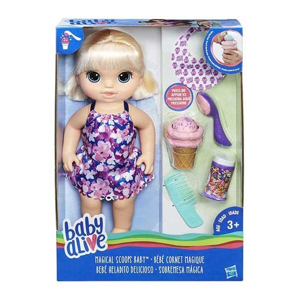 Baby  alive magični sladoled Hasbro C1090         - ODDO igračke