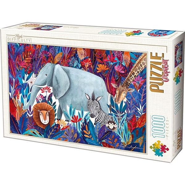 DToys puzzla Tropical 72887-04 - ODDO igračke