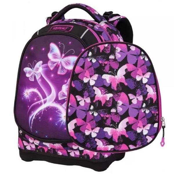 Rančevi za školu Target Superlight 2 Face Petit Violet Butterfly 26826 - ODDO igračke