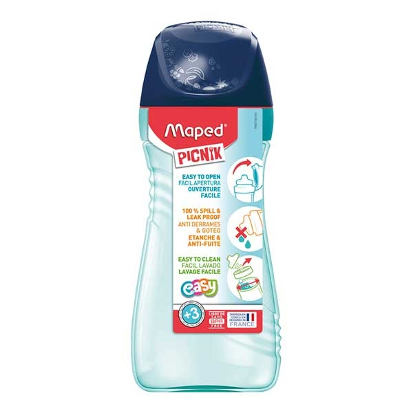 Flaša za vodu Maped ORIGIN 430ml plava M871504 - ODDO igračke