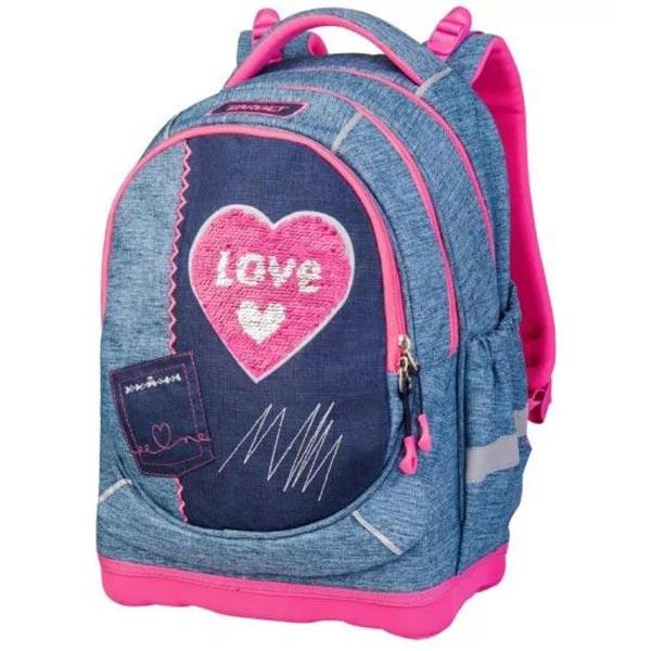 Rančevi za školu Target Superlight Petit Denim Love 26830 - ODDO igračke