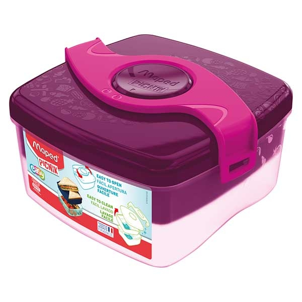 Posuda za hranu Maped ORIGIN 1,4L pink M870101 - ODDO igračke