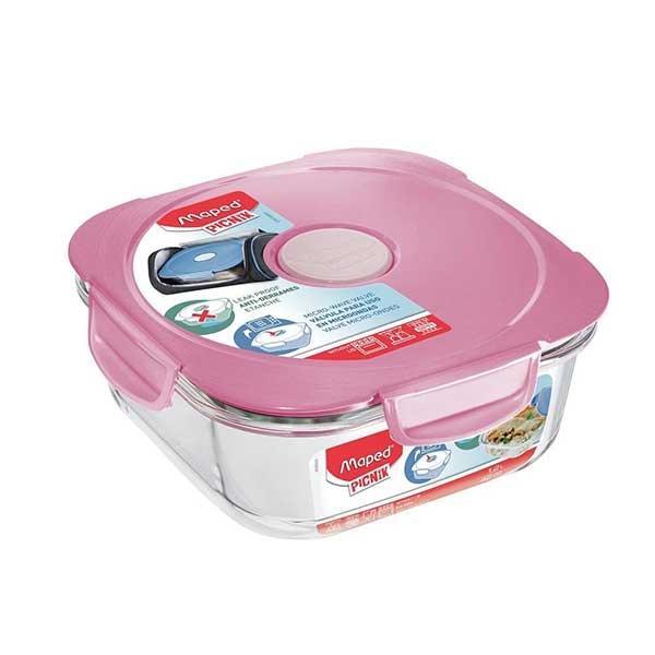 Posuda za hranu Maped staklena pink M870501 - ODDO igračke
