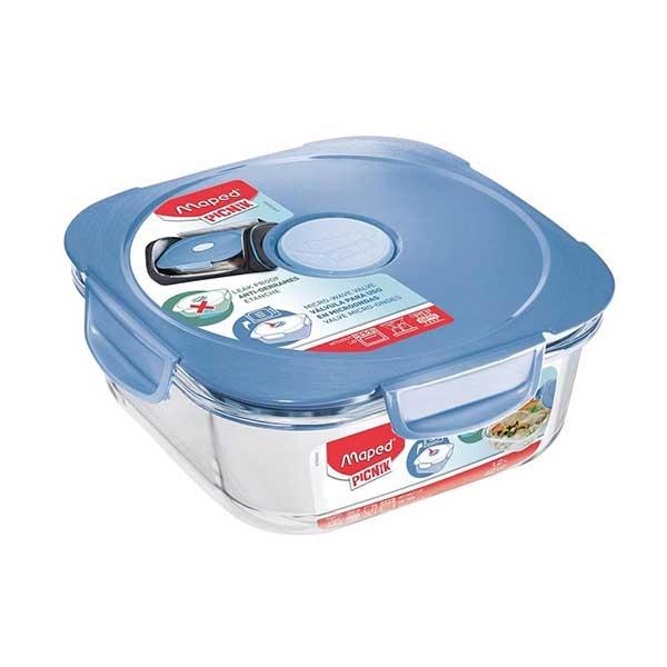 Posuda za hranu Maped staklena plava 1,2L M870503 - ODDO igračke