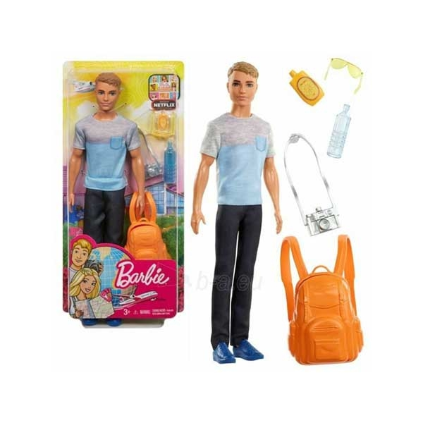 Barbie travel - Ken u setu FWV15 - ODDO igračke