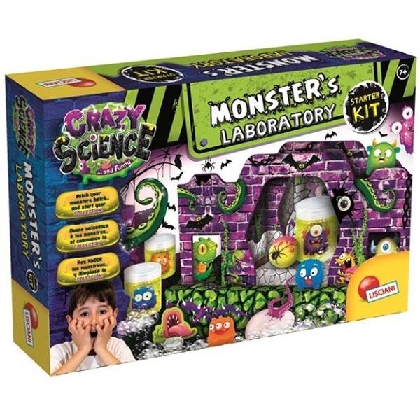 Crazy Science Laboratorija monstruma ljigavaca Lisciani EX77274 - ODDO igračke