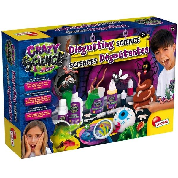 Crazy Science Velika laboratorija gadosti Lisciani EX77250 - ODDO igračke