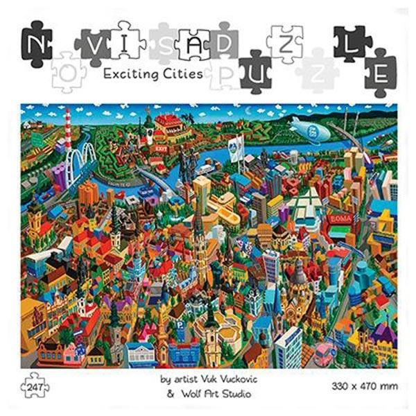 Slagalice Puzzle Uzbudljivi gradovi Pančevo Wolf Art 247pcs - ODDO igračke