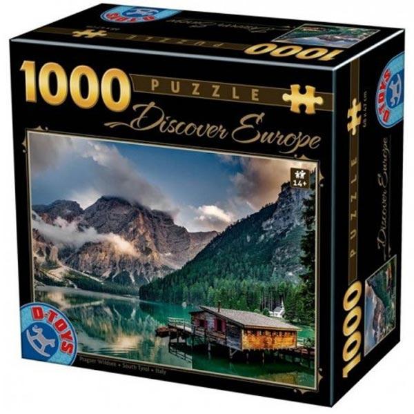 DToys puzzle South Tyrol, Italy 1000pcs 65995-09 - ODDO igračke