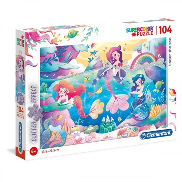 Clementoni puzzla Under the sea 104pcs CL20149 - ODDO igračke
