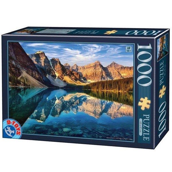 DToys puzzla Moraine Lake, Canada 1000pcs 75765-01 - ODDO igračke