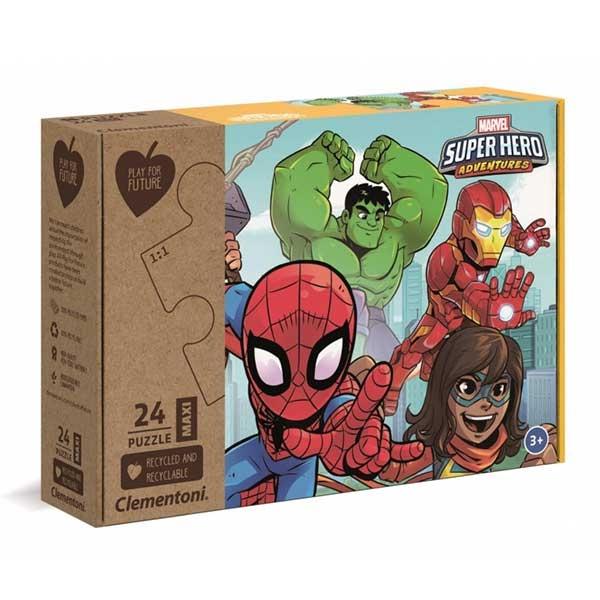Clementoni puzzla MARVEL SuperHero 24pcs 20262 - ODDO igračke