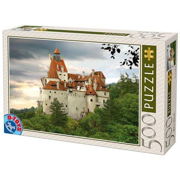 DToys Puzzla Bran Castle Romania 500pcs 63052-02 - ODDO igračke