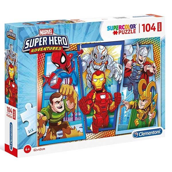 Clementoni Puzzla SUPERHERO 104pcs 23746 - ODDO igračke