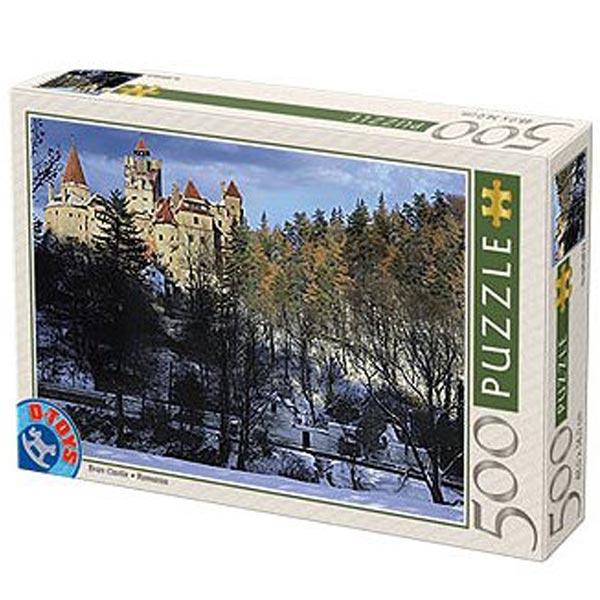 DToys Puzzla Bran Castle Romania 500pcs 63052-05 - ODDO igračke